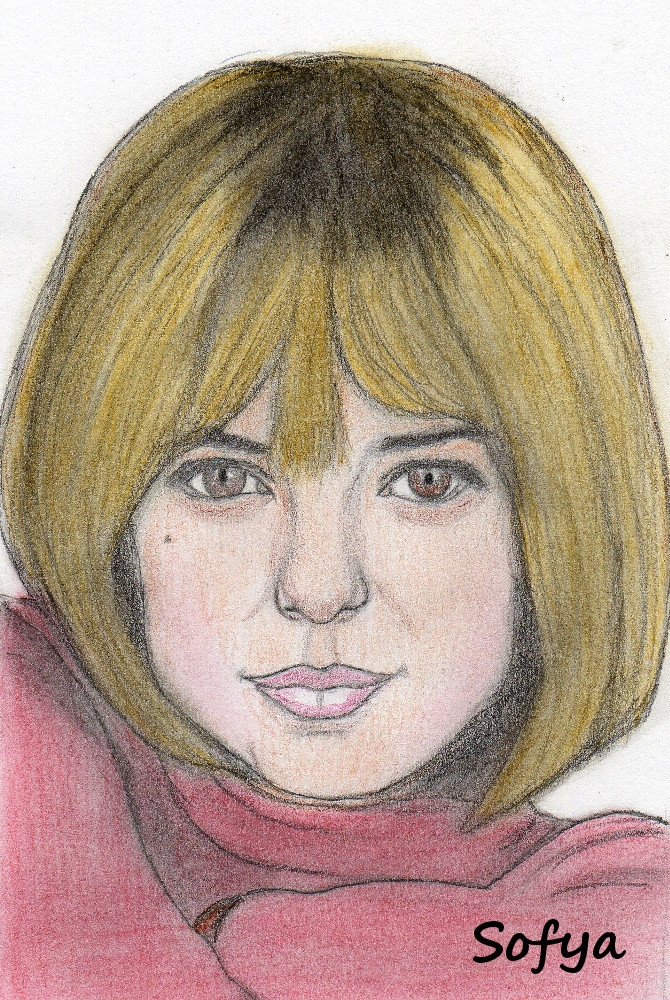 France Gall by Sofya
